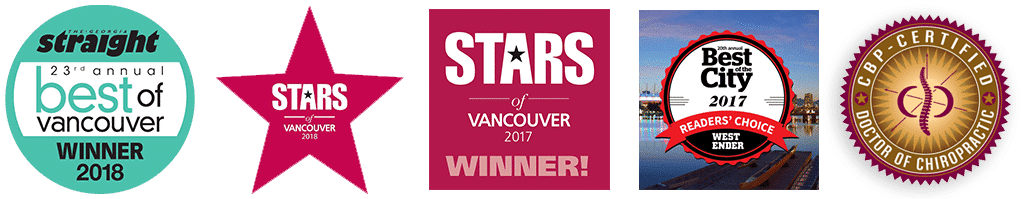 Chiropractic Vancouver BC Awards and Certifications